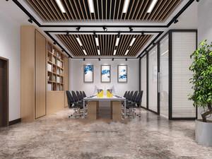 现代风格小型会议室吊顶设计装修效果图赏析