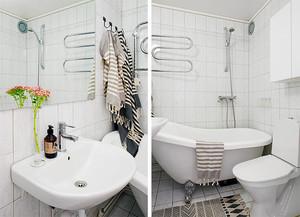65平米北欧风格温馨时尚公寓装修效果图案例