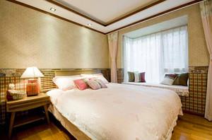 94平米异域东南亚风格两室两厅室内装修效果图案例