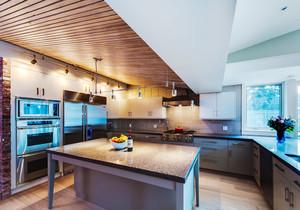 混搭风格大户型精致整体厨房装修效果图赏析