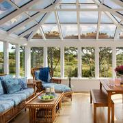 欧式风格精美休闲时尚大阳台设计装修效果图赏析