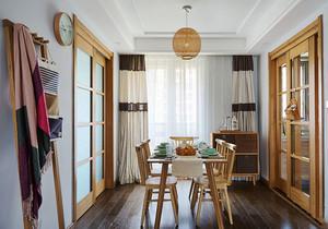 日式风格简约朴素餐厅装修效果图赏析