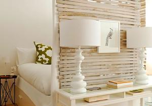 北欧风格文艺精美卧室隔断设计装修效果图赏析