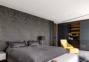 现代风格时尚黑色系卧室装修效果图赏析
