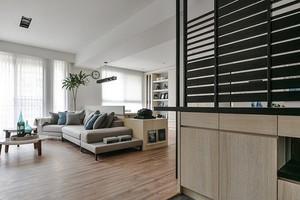 79平米现代风格两室两厅室内装修效果图赏析