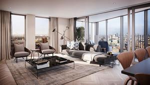 154平米现代风格大户型室内装修效果图案例