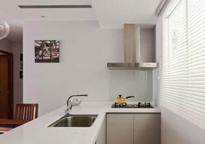 现代风格小户型厨房装修效果图欣赏