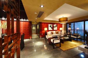 156平米中式风格古典四室两厅室内装修效果图案例