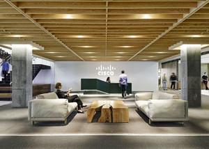 现代简约风格办公室前台设计装修效果图赏析