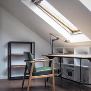 现代风格阁楼书房设计装修效果图赏析