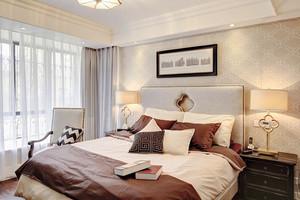 97平米简欧风格精致两室两厅室内装修效果图案例