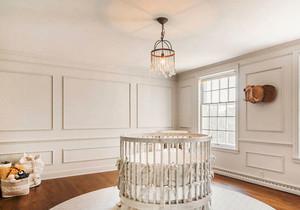 简欧风格温馨舒适婴儿房装修效果图赏析