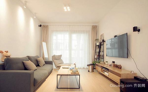 69平米日式风格简约两室两厅室内装修效果图赏析