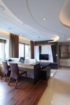 80平米现代风格室内装修效果图赏析