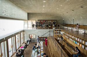 300平米现代风格大型书店设计装修效果图