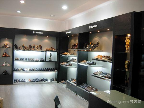 现代风格专柜鞋店设计装修效果图