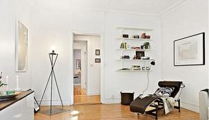 68平米北欧风格简约公寓装修效果图赏析