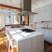 现代风格大户型整体厨房装修效果图赏析