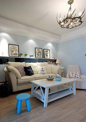 82平米地中海风格两室两厅室内装修效果图赏析