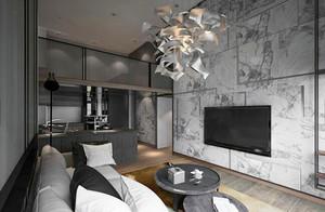 216平米后现代风格精致别墅室内装修效果图案例