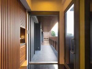 132平米现代简约风格复式楼室内装修效果图案例