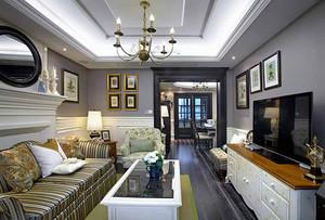美式风格精致别墅室内装修效果图案例