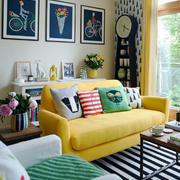 小清新风格小户型客厅装修效果图赏析