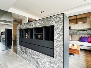 103平米现代风格精致两室两厅室内装修效果图