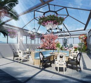欧式风格精美西餐厅装修效果图赏析