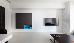 90平米后现代风格文艺范室内装修效果图赏析