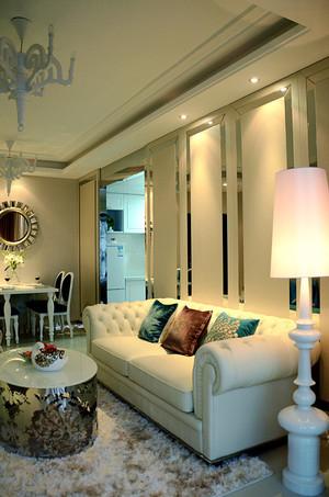 124平米简欧风格低调典雅三室两厅室内装修效果图赏析