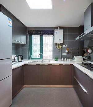 现代简约风格整体厨房装修效果图欣赏