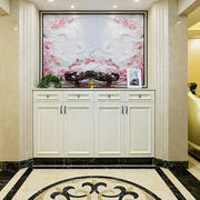 欧式风格精美玄关柜设计装修效果图