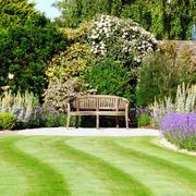 欧式风格清新唯美别墅花园设计装修效果图