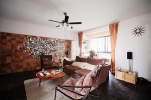 现代风格原宿风一居室小户型装修效果图案例