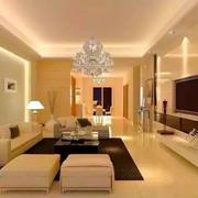 现代风格简约整洁客厅装修效果图赏析