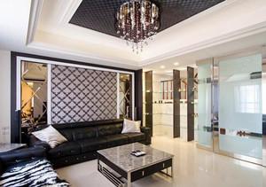 122平米新古典主义风格两居室室内装修效果图