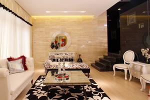 187平米新古典风格轻奢风复式楼室内装修效果图