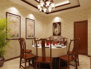 中式风格精致酒店包厢设计装修效果图赏析