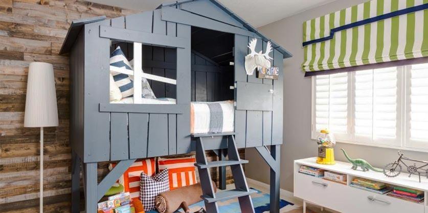 北欧风格,创意儿童房设计效果