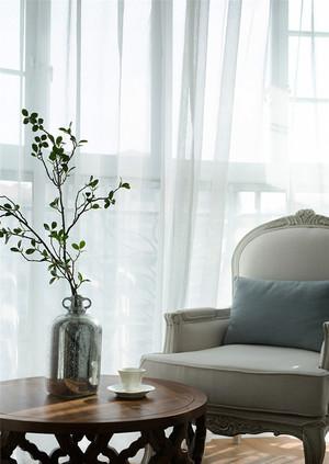 欧式风格清新淡雅精致三室两厅室内装修效果图赏析