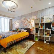 混搭风格时尚温馨儿童房装修效果图赏析