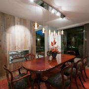 混搭风格精致餐厅隔断设计装修效果图赏析