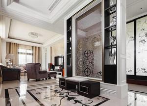 134平米简欧风格精装三室两厅室内装修效果图案例