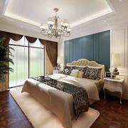 简欧风格典雅精致大户型主卧室装修效果图