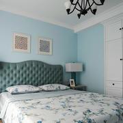 简约美式风格清新卧室装修效果图赏析