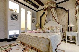 400平米美式风格沉稳自然别墅室内装修效果图