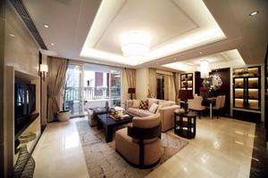 新中式风格精致四室两厅室内装修效果图赏析