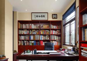 中式风格古朴精致书房设计装修效果图赏析