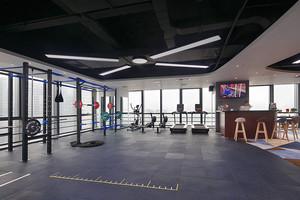 80平米现代风格健身房装修效果图赏析